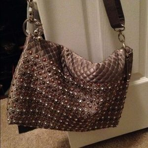 Handbags - Galian of New York Fold Over Messenger Bag